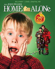Home Alone (Blu-ray +DVD  2-Disc Set) NEW sealed