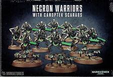 Necron Warriors w/Canoptek Scarabs - Warhammer 40k - Sealed in Box