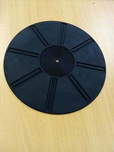 Rubber Turntable Mat. 4mm High Quality. Made In Japan