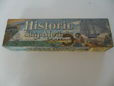 OLD IRONSIDES OFFICIAL BOY SCOUTS OF AMERICA BSA 1685G BALSA SHIP MODEL KIT 1952