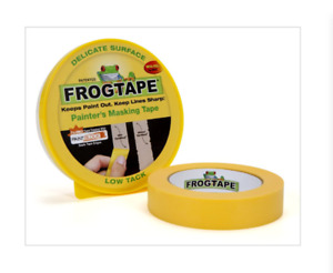Frog Tape Masking Delicate Surface yellow Low Tack Clean Painters Painting 24mm