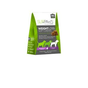 Slim Paws Weight Loss Soft Chews for Medium Dogs - 30 ct Chicken & Apple 30ct