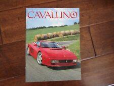 VINTAGE CAVALLINO FERRARI MAGAZINE NUMBER 71 October 1992 512 TR Feature