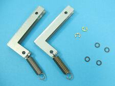 Sony PS-FL3 Turntable REPAIR PART - Original Hinge Set (Hinges / Lid Springs)
