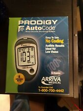 Prodigy Auto Code Talking Blood Glucose Meter NEW (No manual)