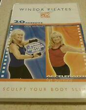 WINSOR PILATES - 20 MINUTE CIRCLE WORKOUT & ACCELERATED FAT BURNING DVD Exercise