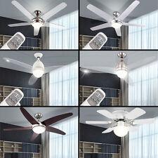 LED Decken Ventilator LEISER Klima Kühler Lüfter FERNBEDIENUNG mit Beleuchtung