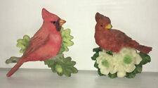 2 Cardinal Bird Themed Refrigerator Magnets Marjolein Bastin Nature's Sketchbook