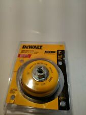 DeWALT Carbon Crimp Wire Cup Brush DW4922 New FREE SHIPPING