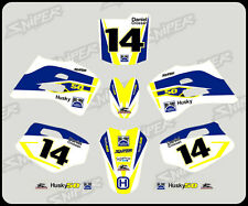 Husky Boy early model graphic/decal kit PERSONALISED FREE UK SHIPPING