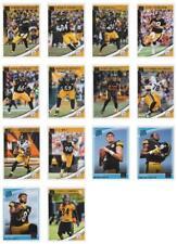 2018 Donruss Pittsburgh Steelers Team Set Roethlisberger Ju Ju, Watt w RC's