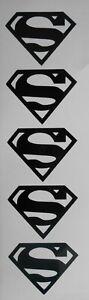 Superman Logo Super Hero, Ideal for Crafting, Glasses, Mugs, Sweet Cones, Craft