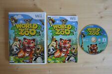 Wii-World of zoo - (Neuf dans sa boîte, avec mode d'emploi)