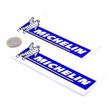 ADESIVI MICHELIN Classic Auto Moto Decalcomanie in vinile da corsa 150 mm x2