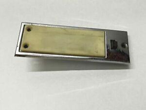 MOPAR 1968-1970 B-Body Map Light Lens Chrome Cover Charger Road Runner GTX 69 RT