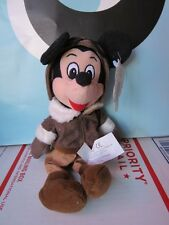 "Disney Mickey Mouse Bean Bag 7"" Pilot Plush Aviation"