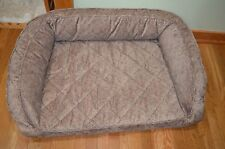Orvis Microfiber Deep Dish Dog Bed Memory Foam Med 40-60 Lbs Lbs. List $259 New