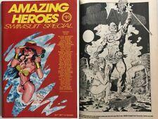 Very Fine 1990, 128 pp 8.0  Joe Linsner Amazing Heroes Swimsuit Special #1