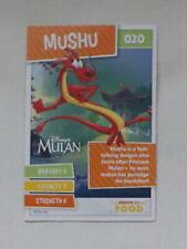 Disney Heroes On A Mission Card No 020 Mushu Sainsbury's 2021 Free Postage