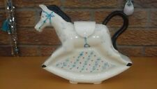 vintage Richard Parrington designs  rocking horse  tea pot.