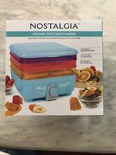 Nostalgia Organic Fruit Snack Maker