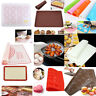 Hot Silicone Cooking Mat Non Stick Heat Resistant Liner Oven Baking Tray Sheet