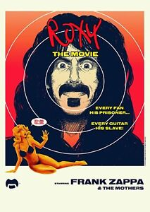 Frank Zappa & The Mothers - Roxy The Movie DVD & CD - USA Import NEW