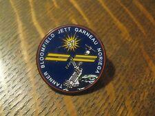 NASA STS-97 Space Mission Bloomfield Jett Garneau Tanner Noriega 2000 Lapel Pin