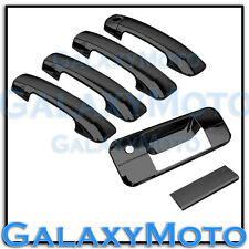 07-13 TOYOTA TUNDRA CREWMAX Black Chrome 4 Door Handle no PSG KH+Tailgate Cover