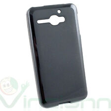 Pellicola+Custodia NERA per Alcatel One Touch Star 6010 cover TPU flessibile