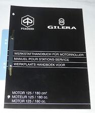 Werkstatthandbuch Motor 125 180 cc 2-Takt automatik - Gilera Piaggio 578365