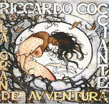 """RICCARDO COCCIANTE """"LA GRANDE AVVENTURA"""" LP SIGILLATO VIRGIN VRC 88  1° EDIZIONE"""