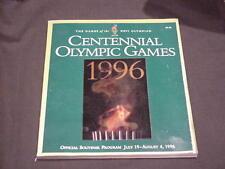 1996 Centennial Olympic Games Program - XXVI