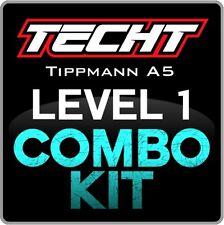 TECHT Tippmann A5 (Pre-Select Fire) Level 1 Combo Kit Paintball Marker Upgrade