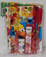 Sesame Street Elmo Cookie Monster Big Bird Stationary Set Party