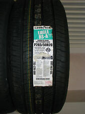 PNEUMATICO M+S GOODYEAR EAGLE RSA 265/50 R20 106V YEAR OF PRODUCTION 2005