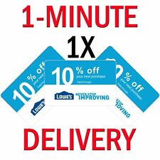 𝟏× Lowes 10% PERCENT 1COUPON Expires 𝟕/𝟏𝟓 In-Store ONLY - Instant Delivery