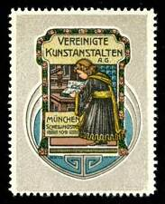 Germany Poster Stamp - Vereinigte Kunstanstalten, München - Graphic Arts Studio