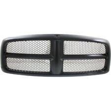 Grille For 2002-2005 Dodge Ram 1500 2003-2005 Ram 2500 Black Plastic