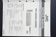 JVC hr-j255ek / j255es ORIGINAL MANUAL DE SERVICIO/Instrucciones/ESQUEMA
