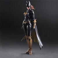 Play Arts Kai Batman Arkham Knight Batwoman Action Figure Doll Model Toy Gifts