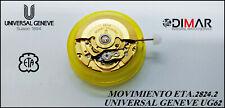 MOVEMENT ETA.2824-2 / UNIVERSAL GENEVE.UG62. SIN RUEDA DE HORAS.