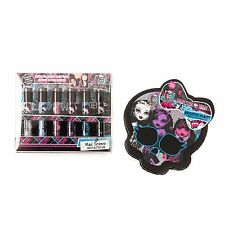 Monster High Bundle of 2 Items, 6 Glitter Shimmer Powder and Tin of Make up