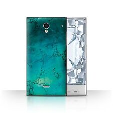 Case/Cover for Sharp Aquos Crystal/306SH/Birth/Gemstone/December/Turquoise