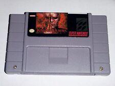 King Of Demons - game For SNES Super Nintendo - Platform