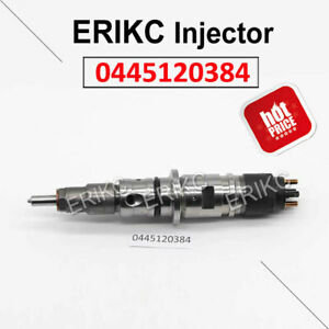 Fuel Injector Assy 0445120384 Common Rail Nozzle 0 445 120 384 For Bosch CUMMINS