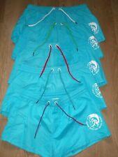 Diesel Turquoise Blue BMBX Sandy Mohawk Beach Swim Shorts  M L XL New