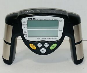Omron HBF-306C Fat Loss BMI Monitor Tracker Black TESTED Working
