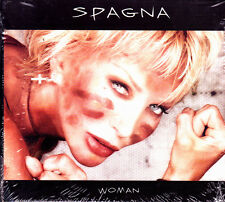 SPAGNA- WOMAN CD ALBUM SPAIN SEALED WITH 2 SONGS IN SPANISH & DUET DEMIS ROUSSOS