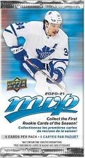 2020-21 Upper Deck MVP Hockey Booster Pack Buy |  5 & get 1 free | preorder
